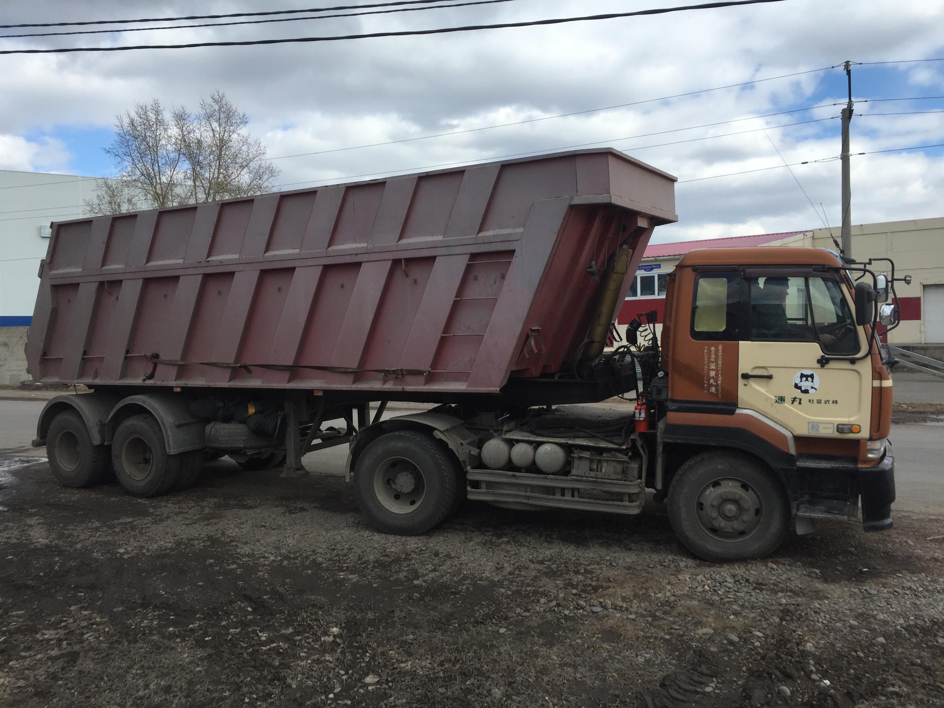 САМОСВАЛЬНЫЙ ПОЛУПРИЦЕП до 20 тонн