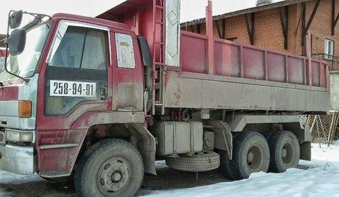 САМОСВАЛ ISUZU до 15 тонн